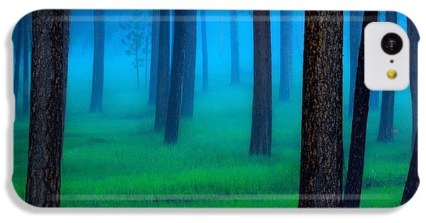 Landscapes iPhone 5c Case - Black Hills Forest by Kadek Susanto