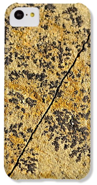 Black Patterns On The Sandstone IPhone 5c Case
