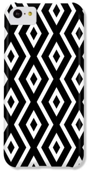 Black And White Pattern IPhone 5c Case