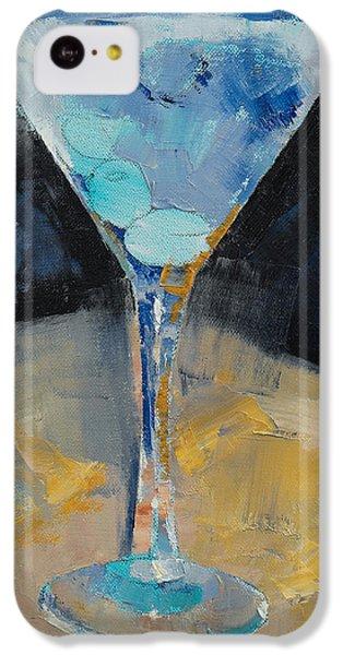Blue Art Martini IPhone 5c Case
