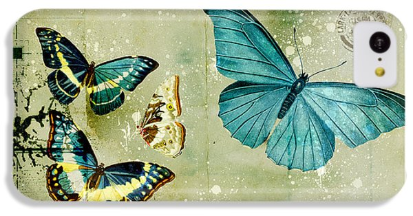 Blue Butterfly - S55c01 IPhone 5c Case