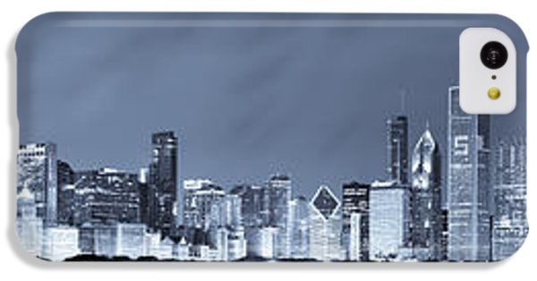Blue Chicago Skyline IPhone 5c Case