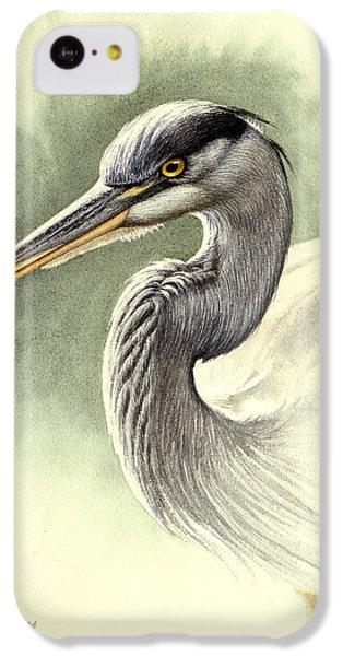 Heron iPhone 5c Case - Blue Heron   by Paul Krapf