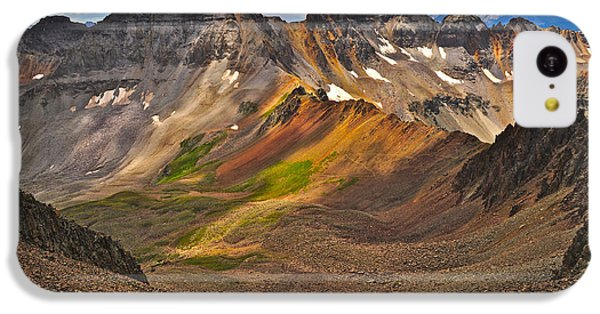 Blue Lakes Pass IPhone 5c Case by Aaron Spong