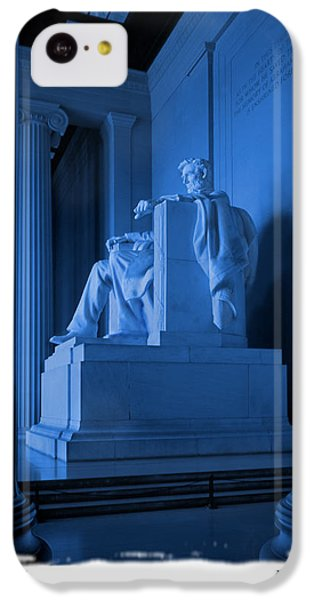 Blue Lincoln IPhone 5c Case