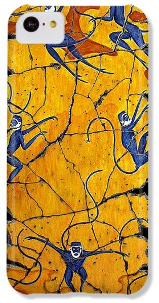 Blue Monkeys No. 41 IPhone 5c Case