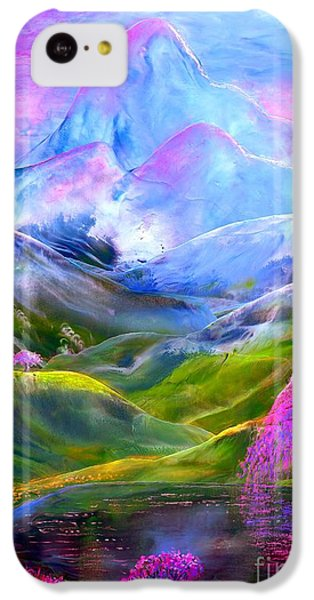 Blue Mountain Pool IPhone 5c Case by Jane Small