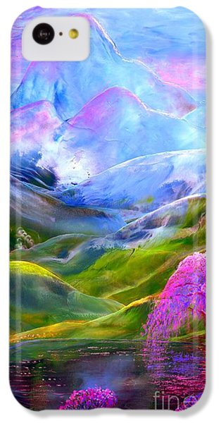 Daisy iPhone 5c Case - Blue Mountain Pool by Jane Small