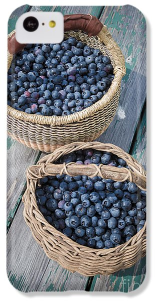 Blueberry Baskets IPhone 5c Case by Edward Fielding