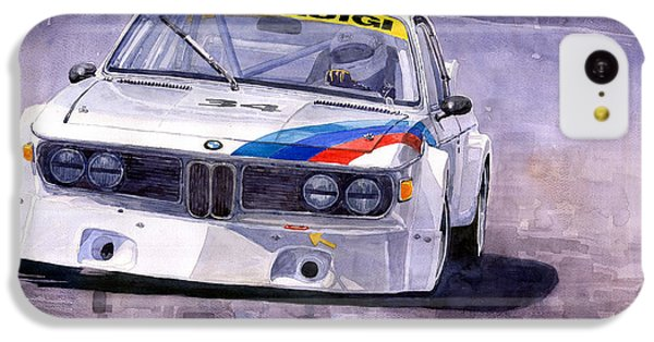 Car iPhone 5c Case - Bmw 3 0 Csl 1972 1975 by Yuriy Shevchuk