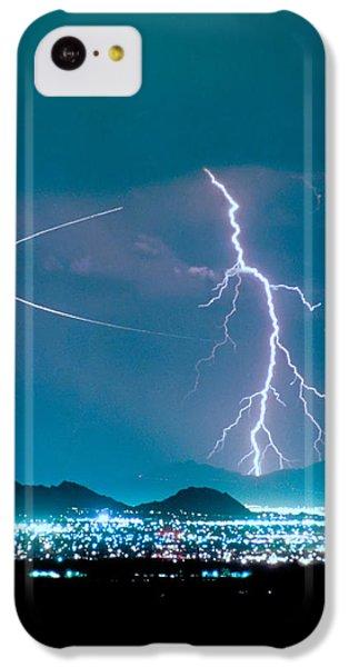 Bo Trek The Lightning Man IPhone 5c Case by James BO  Insogna