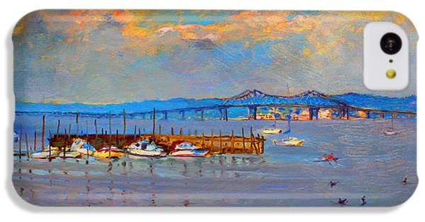 Boats In Piermont Harbor Ny IPhone 5c Case