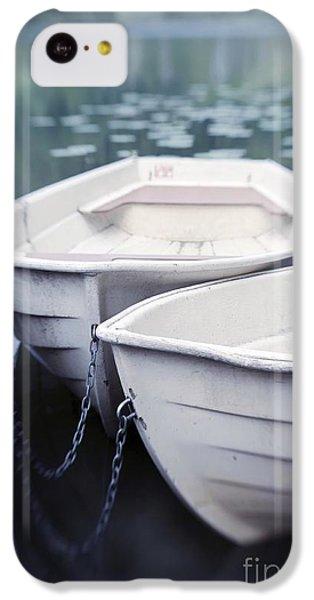 Boat iPhone 5c Case - Boats by Priska Wettstein