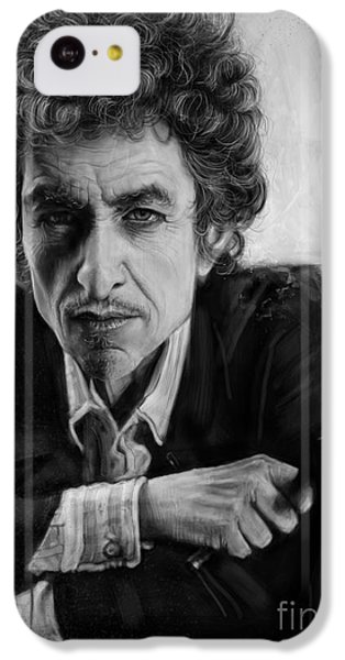 Bob Dylan IPhone 5c Case by Andre Koekemoer