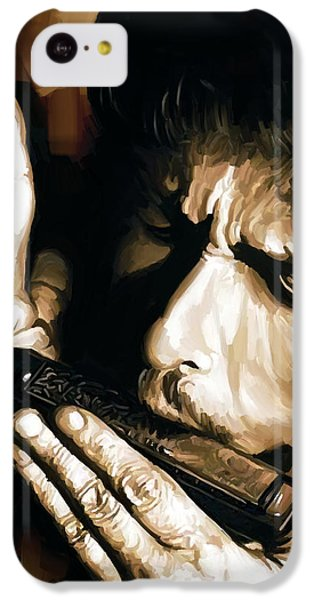 Bob Dylan Artwork 2 IPhone 5c Case by Sheraz A