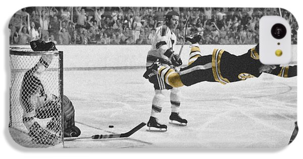Bobby Orr 2 IPhone 5c Case by Andrew Fare