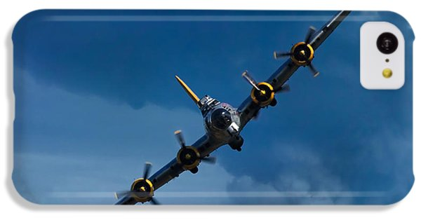 Airplane iPhone 5c Case - Boeing B-17 Flying Fortress by Adam Romanowicz