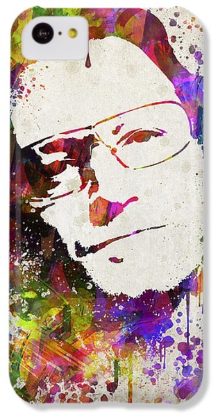 Bono iPhone 5c Case - Bono In Color by Aged Pixel