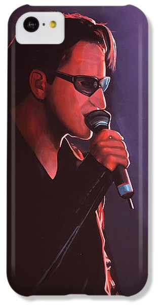 Bono iPhone 5c Case - Bono U2 by Paul Meijering