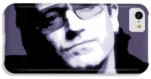 Bono Portrait IPhone 5c Case by Dan Sproul