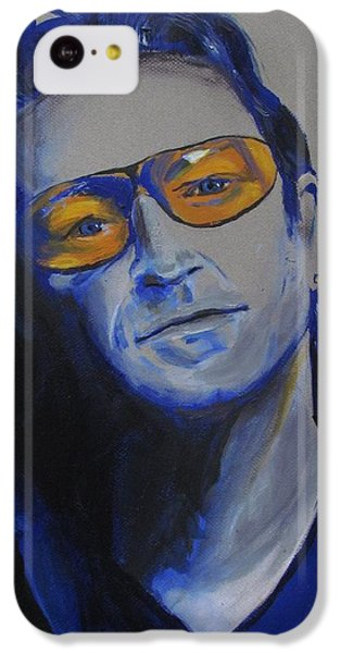 Bono iPhone 5c Case - Bono U2 by Eric Dee