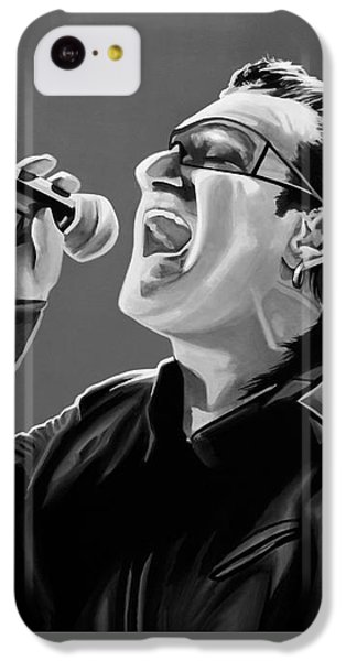 Bono iPhone 5c Case - Bono U2 by Meijering Manupix