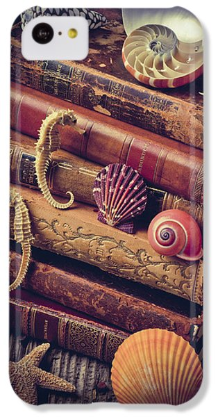 Books And Sea Shells IPhone 5c Case