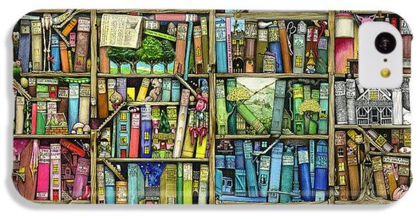 Bookshelf IPhone 5c Case by Colin Thompson