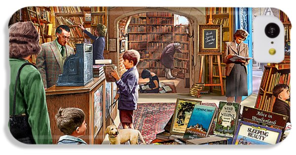 Bookshop IPhone 5c Case by Steve Crisp