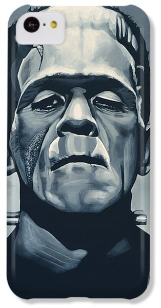Boris Karloff As Frankenstein  IPhone 5c Case by Paul Meijering