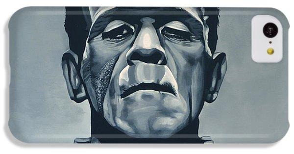 The iPhone 5c Case - Boris Karloff As Frankenstein  by Paul Meijering