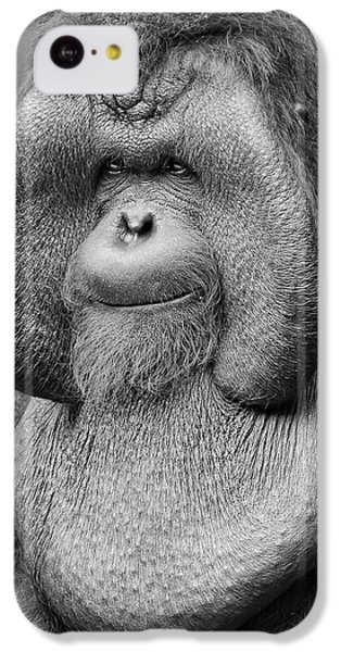Bornean Orangutan IIi IPhone 5c Case by Lourry Legarde