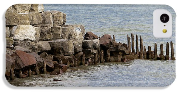 IPhone 5c Case featuring the photograph Breakwater by Ricky L Jones