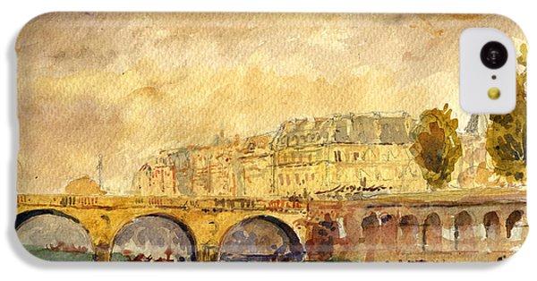 Bridge Over The Seine Paris. IPhone 5c Case