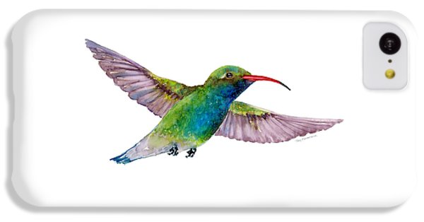 Broad Billed Hummingbird IPhone 5c Case by Amy Kirkpatrick