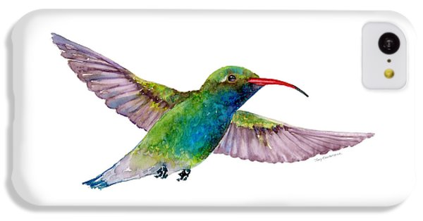 Broad Billed Hummingbird IPhone 5c Case