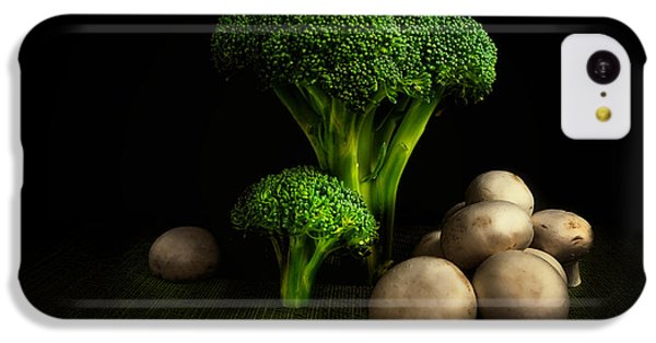 Broccoli Crowns And Mushrooms IPhone 5c Case
