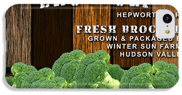 Broccoli Farm IPhone 5c Case by Marvin Blaine