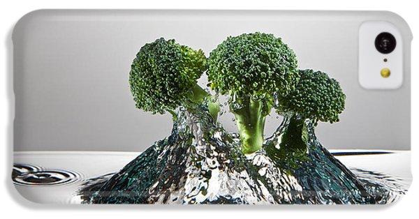 Broccoli Freshsplash IPhone 5c Case by Steve Gadomski