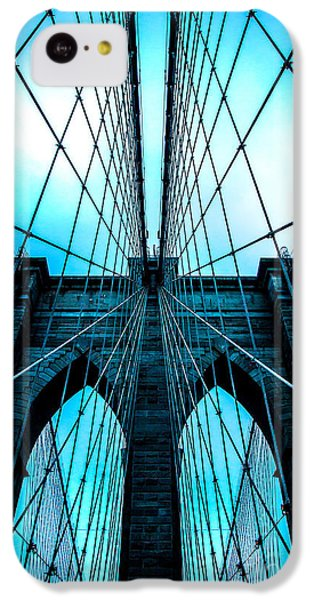 Brooklyn Blues IPhone 5c Case by Az Jackson