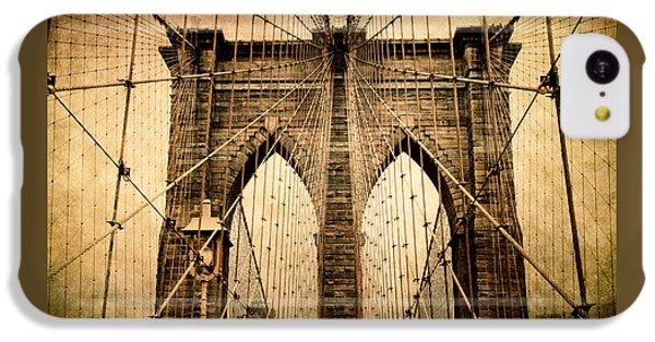 Brooklyn Bridge Nostalgia IPhone 5c Case