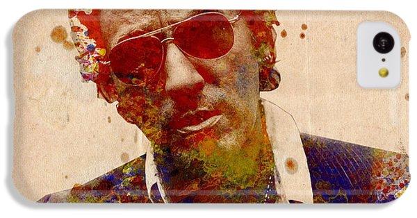 Bruce Springsteen IPhone 5c Case by Bekim Art