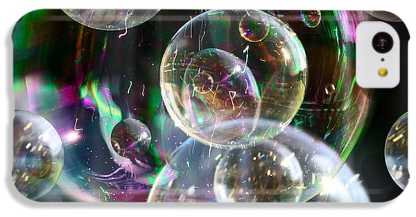 IPhone 5c Case featuring the photograph Bubbles And More Bubbles by Nareeta Martin