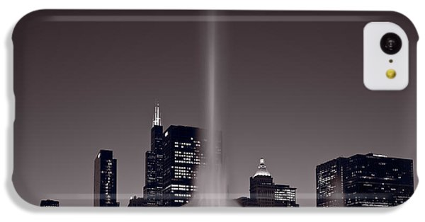 Buckingham Fountain Nightlight Chicago Bw IPhone 5c Case