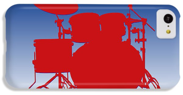 Buffalo Bills Drum Set IPhone 5c Case by Joe Hamilton
