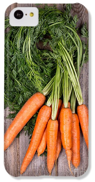 Carrot iPhone 5c Case - Bunched Carrots by Jane Rix