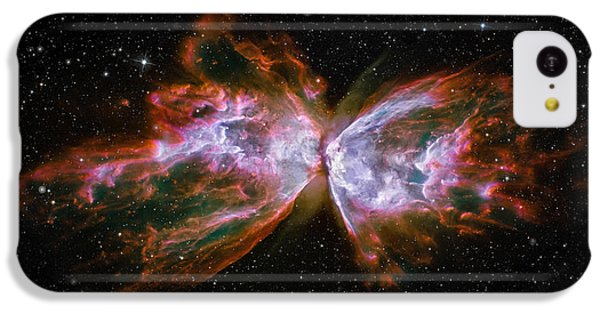 Butterfly Nebula Ngc6302 IPhone 5c Case by Adam Romanowicz