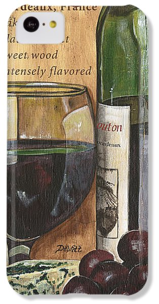 Cabernet Sauvignon IPhone 5c Case by Debbie DeWitt