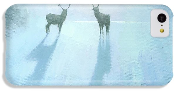 Deer iPhone 5c Case - Call Of The Arctic by Steve Mitchell