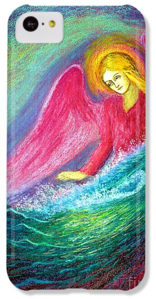 Figurative iPhone 5c Case - Calming Angel by Jane Small